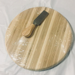 Other - Wooden Charcuterie Cheese Board w/ Matching Knife